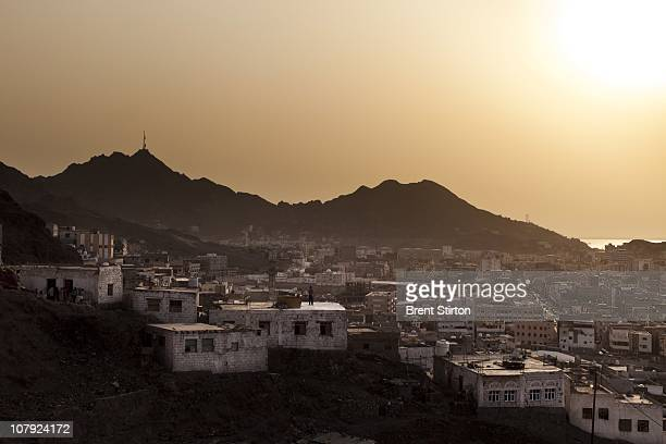 Scenes from Aden the Yemen port city once occupied by the British for over two centuries located at the southern corner of Yemen August 11 2010 Aden...