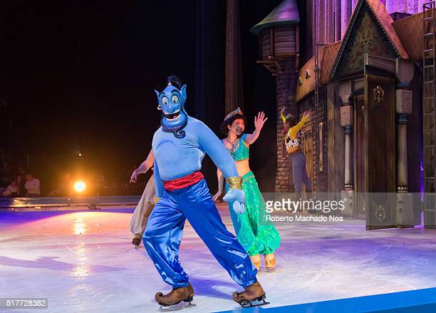 CENTRE TORONTO ONTARIO CANADA Scenes from Aladdin Disney on Ice celebrates 100 hundred years of magic The famous Disney characters and stories are...