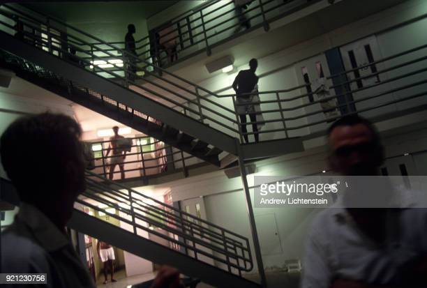 Scenes from daily life on June 1 1997 at the Hughes Unit a Texas State prison outside of Gatesville Texas n
