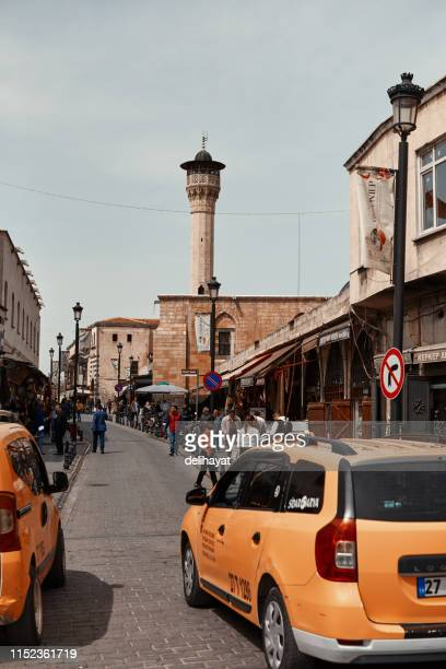 Szenen aus dem Alltag in der Türkei. Menschen im historischen Stadtzentrum von Gaziantep