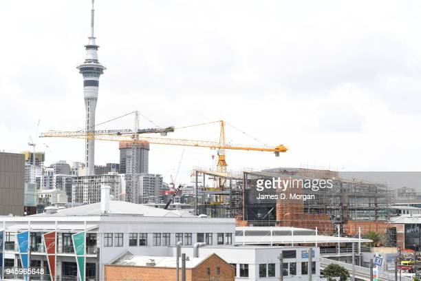 Scenes from in and around the city on January 16 2017 in Auckland New Zealand The major city being in the north islanf of New Zealand is a...