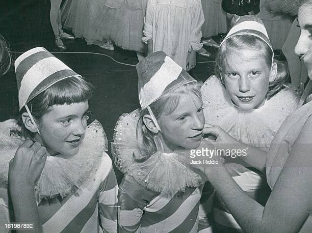 AUG 27 1962 AUG 28 1962 Scenes From Rehea Getting Ready For Tuesday Night's Festival The Denver Civic Ballet Co begins performances Tuesday night at...