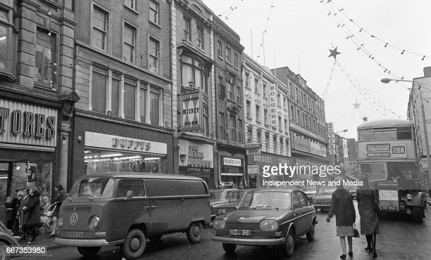 Scenes from Talbot Street and North Earl Street Dublin