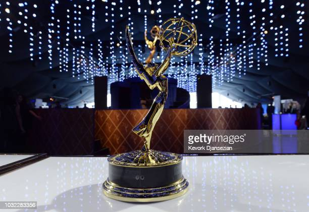 Scenes from the 70th Emmy Awards Governors Ball and 2018 Creative Arts Governors Ball press preview at LA Live Event Deck on September 6 2018 in Los...