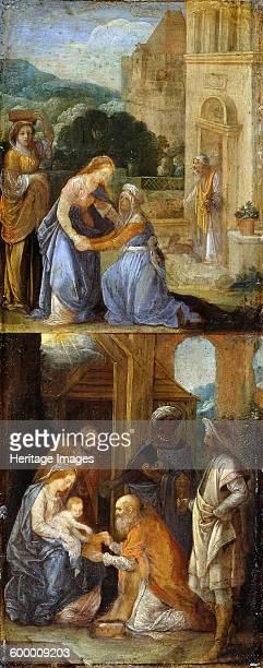 Scenes from the Life of the Virgin 15781610 Found in the collection of Staatliche Museen Berlin Artist Elsheimer Adam