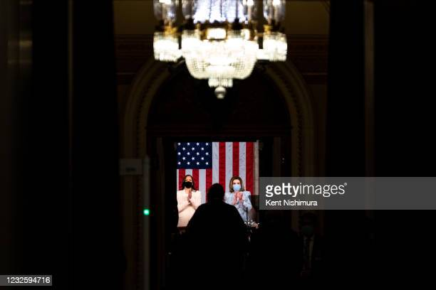Scenes from the Nations Capitol ahead of President Joe Bidens address of the Joint Session of the 117th Congress on the eve of his 100th day in...