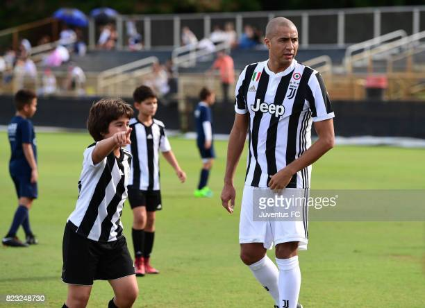 Scenes from the Psg Academy And Juventus Academy Friendly Match at Barry University on July 25, 2017 in Miami, Florida.