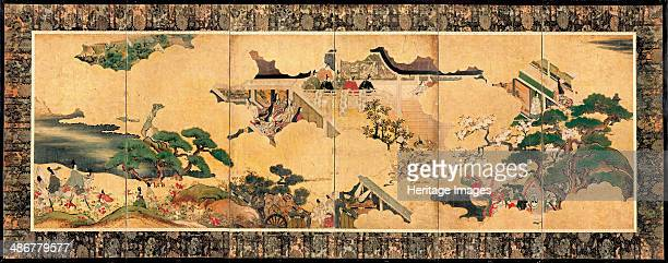 Scenes from The tale of Genji 17th century Artist Anonymous
