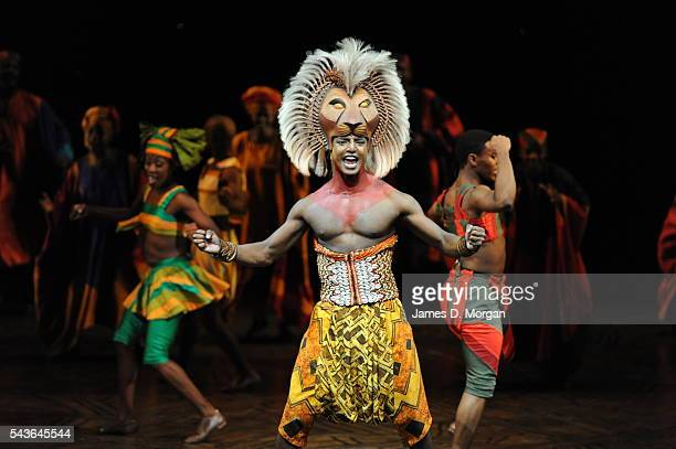 Scenes from the world's longest running musical Disney's The Lion King on March 01 2011 in Singapore