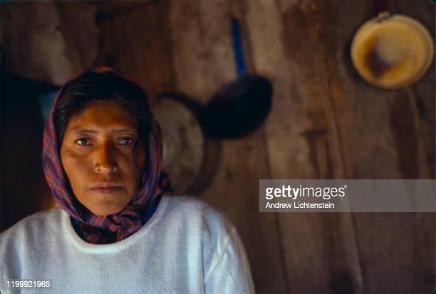 Scenes from village life in Coloradas de la Virgen, a remote indigenous Tarahumara village, as seen in May of 1998, in the Sierra Tarahumara...