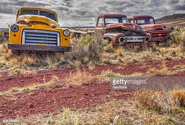 Wrecking Yards In Oregon : Scrap yard stock photos and pictures getty images