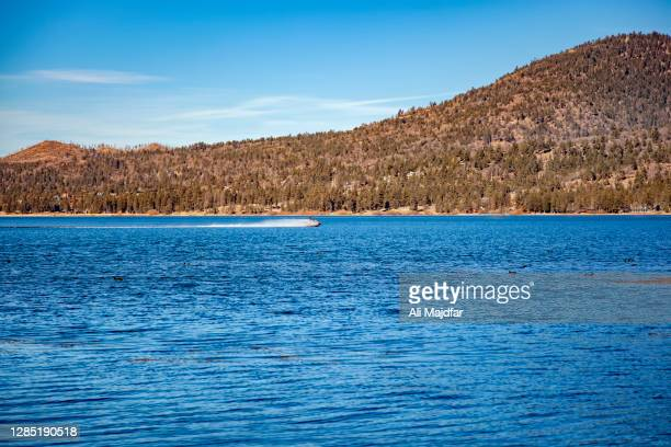 scenes in big bear lake - big bear lake stock pictures, royalty-free photos & images