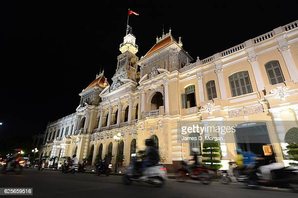 Scenes in Ho Chi Minh City Vietnam