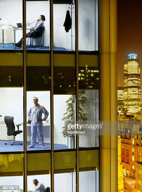 scenes in office building - mismatched clothes stock pictures, royalty-free photos & images
