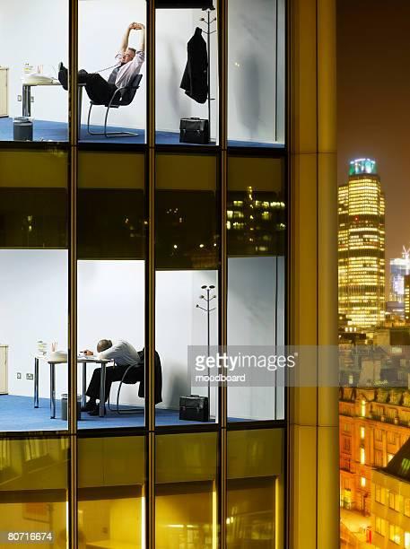 Scenes in Office Building