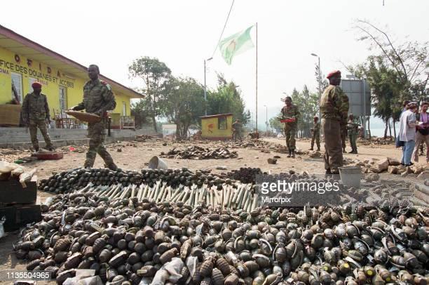 Scenes in Rwanda following the civil war 30th July 1994