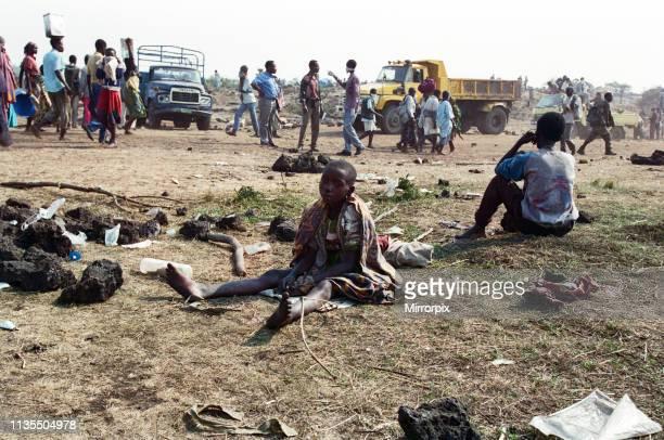 Scenes in Rwanda following the civil war, 30th July 1994.