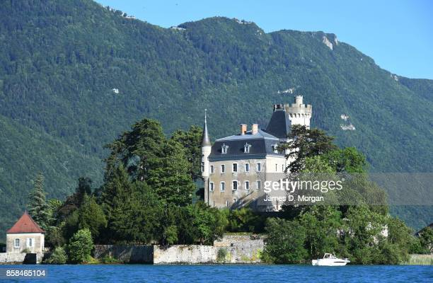 Scenes of Chateau Ruphy on Lake Annecy in France on June 24th 2017