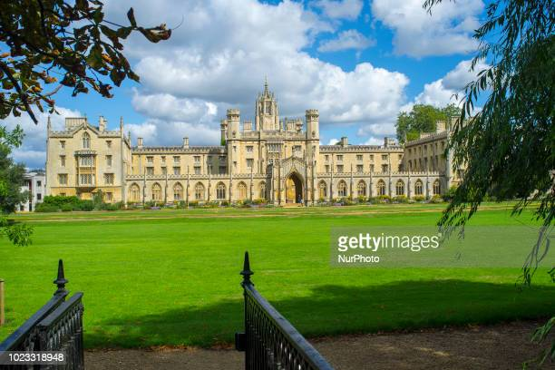 Scenes of daily life are pictured in Cambridge on August 25 2018 Cambridge is home to the worldrenowned University of Cambridge which was founded in...
