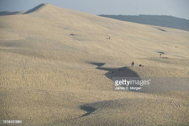 Scenes of Dunes Du Pilat on the cape of ferret in Arcachon France in June 20th 2018