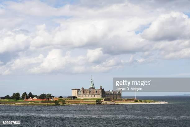 Scenes of Kronborg Castle on sunny summer day in Helsingor, Denmark in July 28th 2017