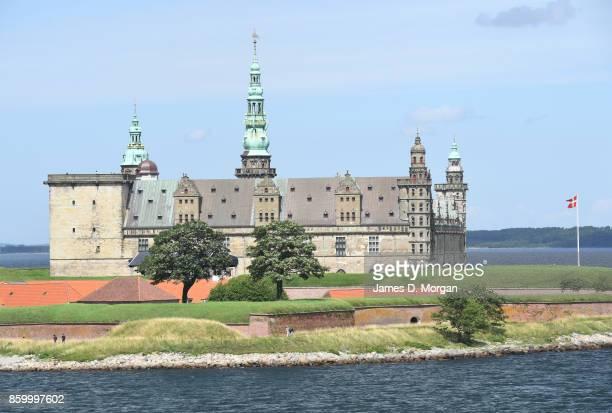 Scenes of Kronborg Castle on sunny summer day in Helsingor Denmark in July 28th 2017