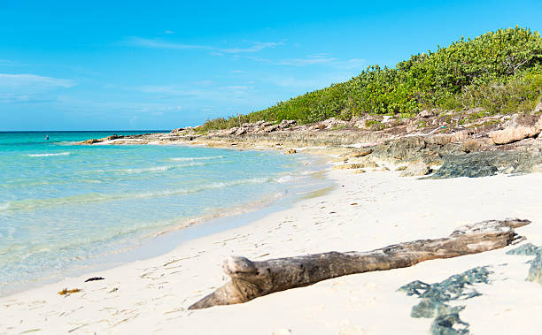 Scenes Of The Beautiful And Idyllic Santa Maria Key Beach Without People Tropical In