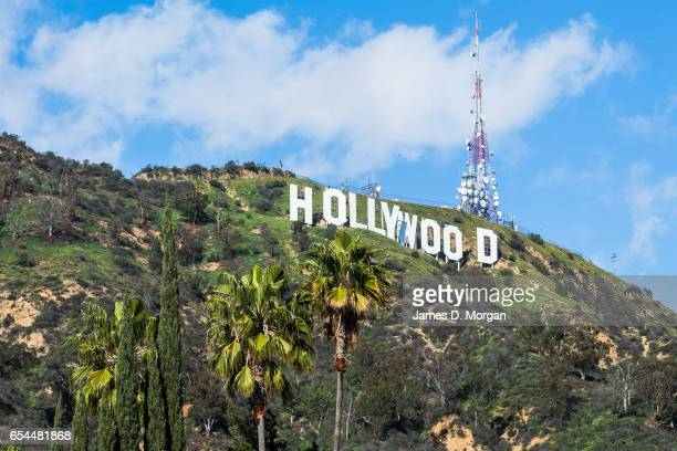 Scenes of the Hollywood sign On March 5th 2017 in Los Angeles United States of America