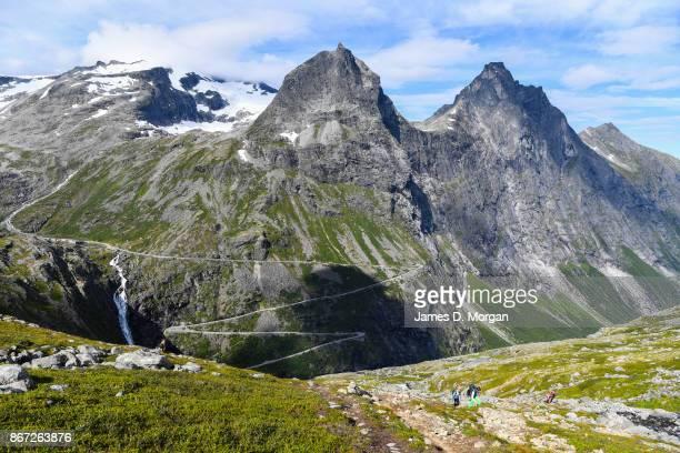 Scenes of Trollstigen in August 9th 2017 in Norway