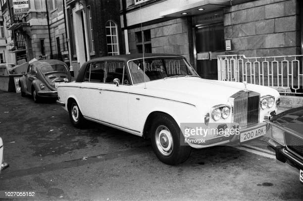 Scenes outside the flat where Keith Moon drummer of the British rock group The Who was staying in Curzon Place Mayfair after he was taken away on a...