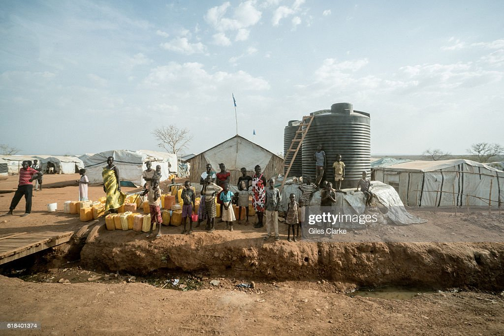 Scenes while driving to UNICEF's Hope School in Juba, South Sudan