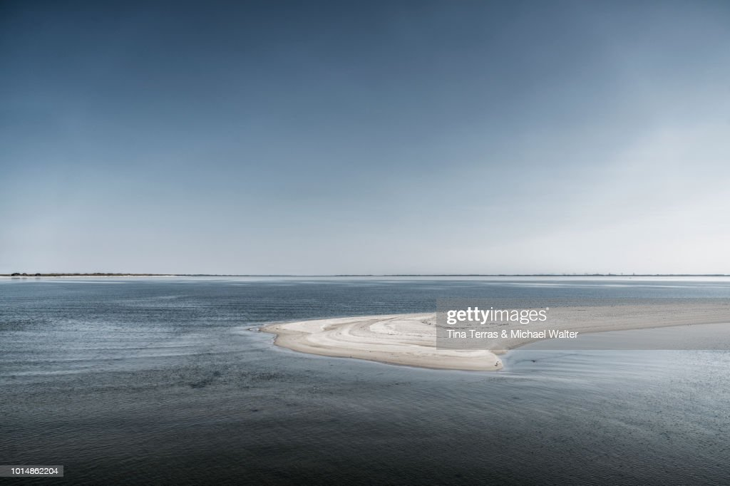 Scenic Coast View Of The Island Sylt Germany High Res Stock Photo