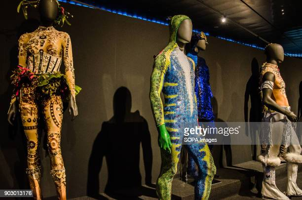 Scenic dresses of the new show of CIrque Du Soleil Totem The Barcelona design HUB Center will host until 4 February the exhibition Totem Behind the...