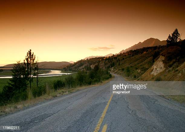 Scenic Drive on a Backroad