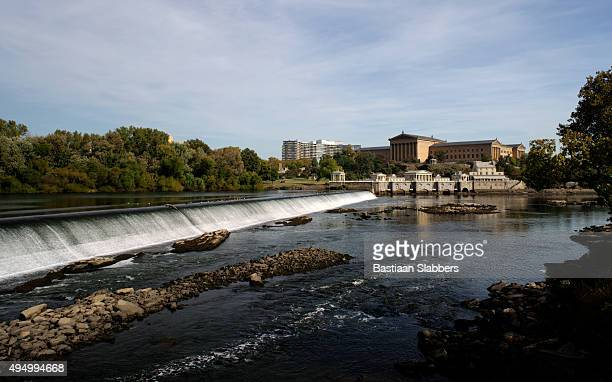 Scenic Fairmount Water Works and Philadelphia Museum of Art