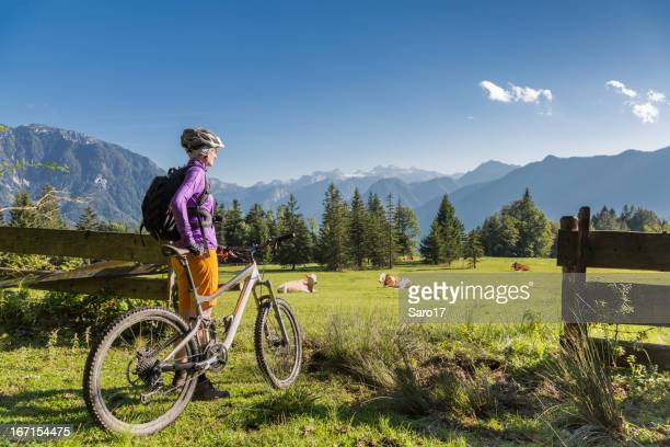 Schönen Urlaub Radfahren im Salzkammergut, Österreich