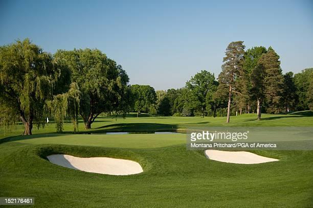 15 scenic Oak Hill Country Club in Rochester New York USA the future site of the 95th PGA Championship on June 11 2012