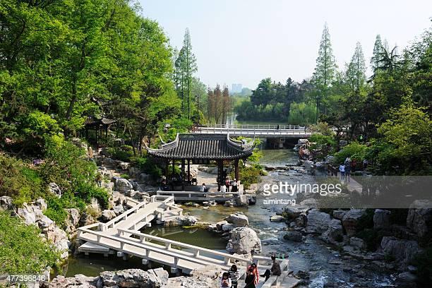 parco panoramico di yangzhou cina - yangzhou foto e immagini stock