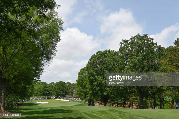 Scenic photo of the fifth hole during the third round of the Wells Fargo Championship at Quail Hollow Club on May 4, 2019 in Charlotte, North...
