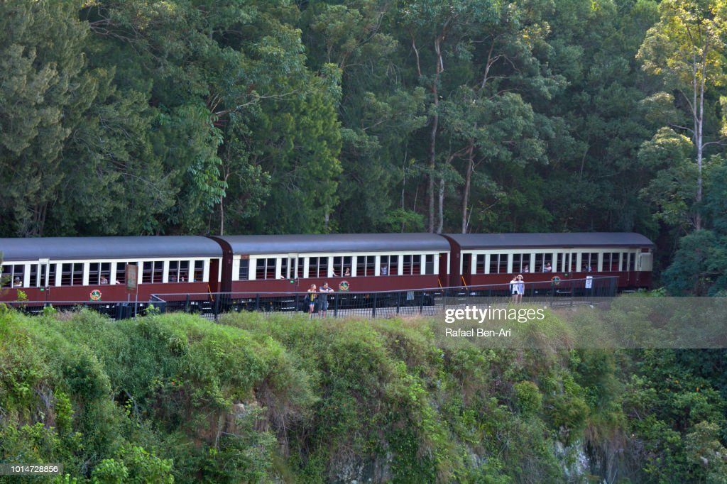 Scenic Railway Trip in Queensland Australia : Stock Photo