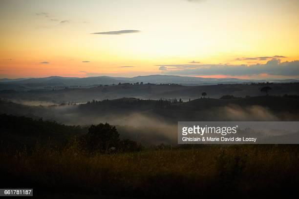 Scenic view, Buonconvento, Tuscany, Italy