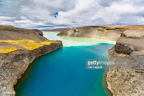 scenic view in iceland - lagarde stock pictures, royalty-free photos & images