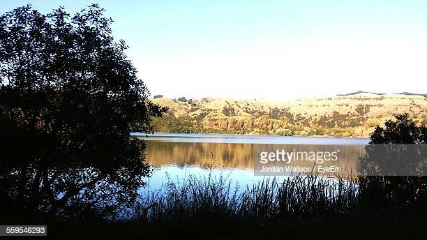 Scenic View Lake Against Sky