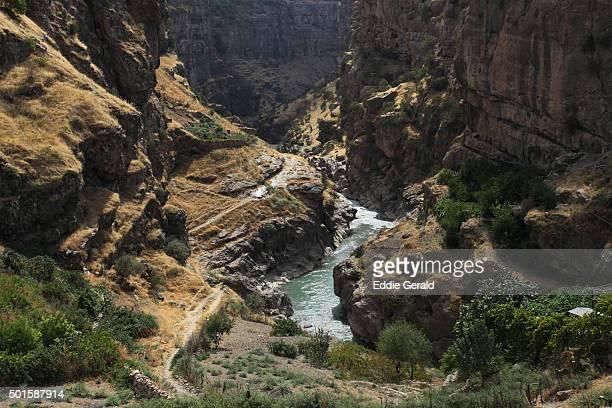 Scenic view of a Canyon in Rawanduz in northern Iraqi