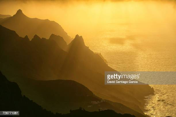 Scenic View Of A Taganana With Anaga Mountains In Tenerife, Canary Islands, Spain