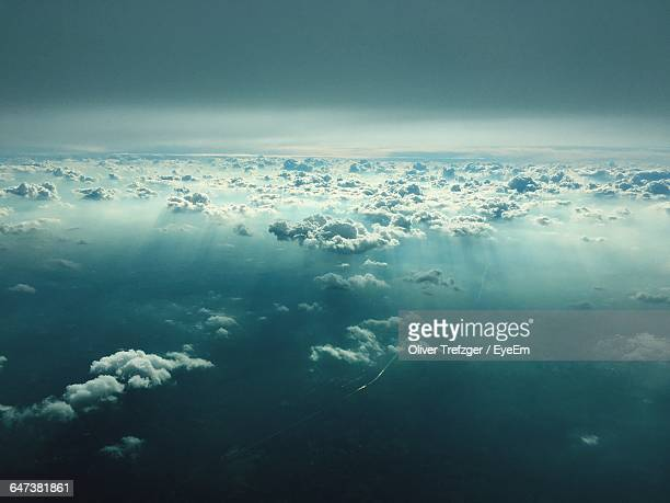 Scenic View Of Above Clouds