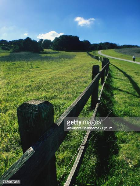 scenic view of agricultural field against sky - palo alto stock pictures, royalty-free photos & images
