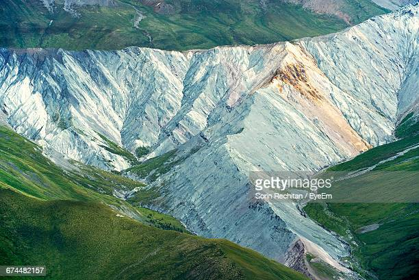 Scenic View Of Altai Mountains