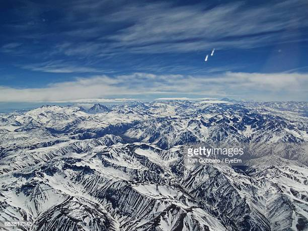 Scenic View Of Andes Mountain Range