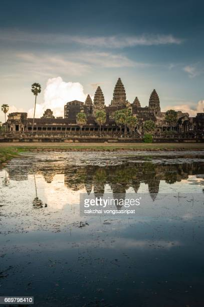 Scenic View of Angkor Wat